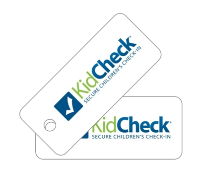 Picture of KidCheck Guardian Key Tags (100 Pack)
